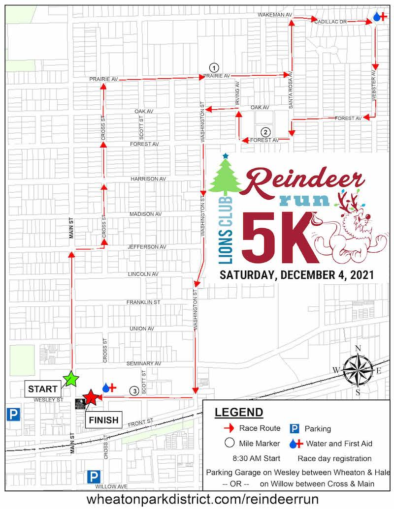 Race Route Map PDF opens in a new window